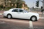 Exotics in Dubai: Rolls Royce Phantom - B profile right