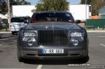 And   Exotic Spotting in Melbourne: Rolls Royce Phantom - front (Grand Prix site, Albert Park, Vic, 16 March 08)