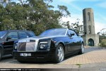 Exotic Spotting in Melbourne: Rolls Royce Phantom - front left 1 (Arthurs Seat, Vic, 19 July 2009)