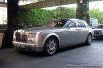 Left   Exotic Spotting in Melbourne: Rolls Royce Phantom - front left 2 (Crown Casino, Victoria, 26 Mar 09)