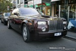 Car   Exotic Spotting in Melbourne: Rolls Royce Phantom - front right (Lygon St, Carlton, Vic, 16 March 08)