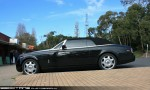 Exotic Spotting in Melbourne: Rolls Royce Phantom - profile left (Arthurs Seat, Vic, 19 July 2009)a