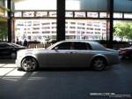 23   Exotic Spotting in Melbourne: Rolls Royce Phantom - profile left (Crown Casino, Vic, 23 Jan 08)