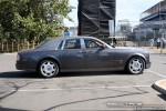 And   Exotic Spotting in Melbourne: Rolls Royce Phantom - profile right (Grand Prix site, Albert Park, Vic, 16 March 08)