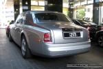 Victoria   Exotic Spotting in Melbourne: Rolls Royce Phantom - rear left 1 (Crown Casino, Victoria, 26 Mar 09)