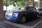Left   Exotic Spotting in Melbourne: Rolls Royce Phantom Drophead - front left (Crown Casino, Vic, 18 Feb 09)