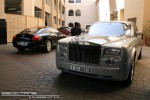 98octane Photos Exotics in Dubai: Rolls Royce Phantom and Bentley Continental GT- C front