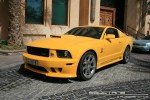 Mustang   Exotics in Dubai: Saleen Mustang GT - front left