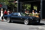 1967   Exotic Spotting in Melbourne: Shelby GT500  Eleanor  [1967] - front right (South Yarra, Vic, 21 Jan 09)