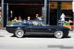 Gt500   Exotic Spotting in Melbourne: Shelby GT500  Eleanor  [1967] - profile right (South Yarra, Vic, 21 Jan 09)
