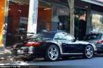Cab   Heritage plates: Vic plate 114 - rear (Porsche 911 997 Carrera 4S Cab, South Yarra, Vic, 17 Apr 2010)