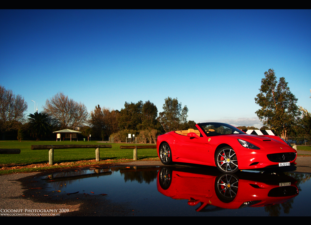 Ferrari California - Coconut
