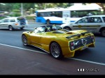 cel Photos Exotic Spotting in Sydney: Pagani 	Zonda C12-S Roadster