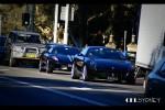 cel Photos Exotic Spotting in Sydney: Ferrari 612 + F430