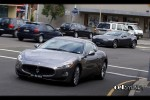 Maserati   Exotic Spotting in Sydney: Maserati GranTurismo & Aston Martin AMV8 Vantage