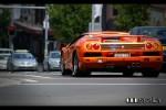 Lamborghini   Exotic Spotting in Sydney: Lamborghini Diablo VT Roadster