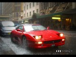 Rain   Exotic Spotting in Sydney: Ferrari F355 Spider