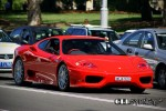 cel Photos Exotic Spotting in Sydney: Ferrari 360 Challenge Stradale