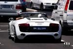 Spyder   Exotic Spotting in Sydney: Audi R8 V10 Spyder