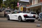 Street   Exotic Spotting in Sydney: Audi R8 V10 Spyder