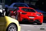 cel Photos Exotic Spotting in Sydney: Ferrari 458 Italia