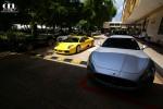 Porsche gt2 Australia Exotic Spotting in Singapore: Maserati GranTurismo, Porsche 997 GT2, Mercedes CLK DTM AMG, Lamborghini Murcielago