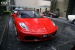 F430   Exotic Spotting in Singapore: Ferrari F430 + Bentley Continental Flying Spur