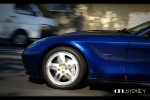 cel Photos Exotic Spotting in Sydney: Ferrari 612 Scaglietti