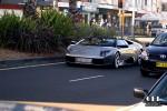 Sydney   Exotic Spotting in Sydney: Lamborghini Murcielago Roadster
