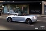 Aston v8 Australia Exotic Spotting in Sydney: Aston Martin AMV8 Vantage N400 Roadster