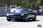 Mercedes   Exotic Spotting in Sydney: Mercedes SLS AMG