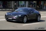 cel Photos Exotic Spotting in Sydney: Lara Bingle Aston Martin V8 Vantage