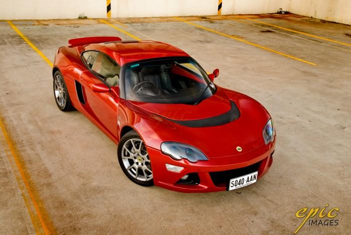 Image: Futurism's Lotus Europa S - Photoshoot