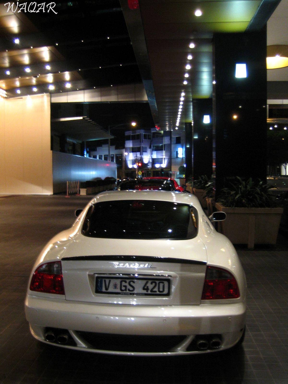 Maserati Gransport Rear