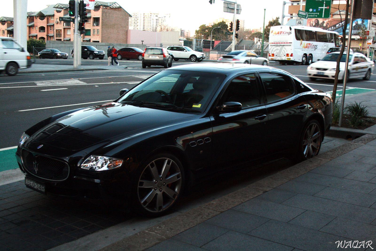 Maserati Quattroporte Spotting