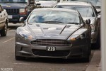 Plate   Spottings: Aston Martin DBS Front plate Wallpaper Spotting Melbourne