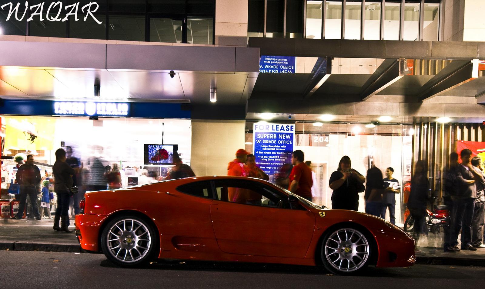 Ferrari 360 Challenge Stradle - Spottings