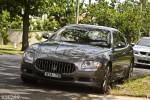 Maserati   Spottings: Maserati Quattroporte