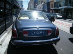 Silver   Spottings in Melbourne: Rolls Royce Silver Seraph on Chapel (rear)