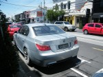 Bmw   Spottings in Melbourne: BMW M5 on Toorak Road (rear)