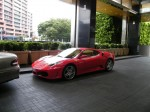 Street   Spottings in Melbourne: F430 Coupe at Crown (2)