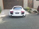 Old   Spotted: Audi R8