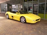 Gold   Spotted: Ferrari F355