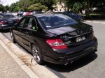 MERCEDES   Spotted: Mercedes C63 AMG