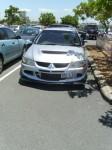 Old   Spotted: Mitsubishi Lancer Evo 8