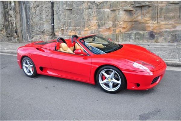 Stolen Ferrari 360 Spider Sydney NSW