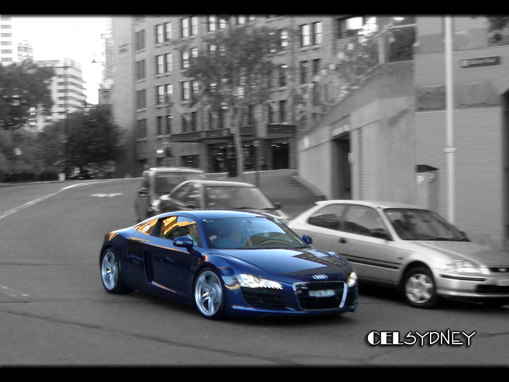 Sydney Public: Audi R8 in