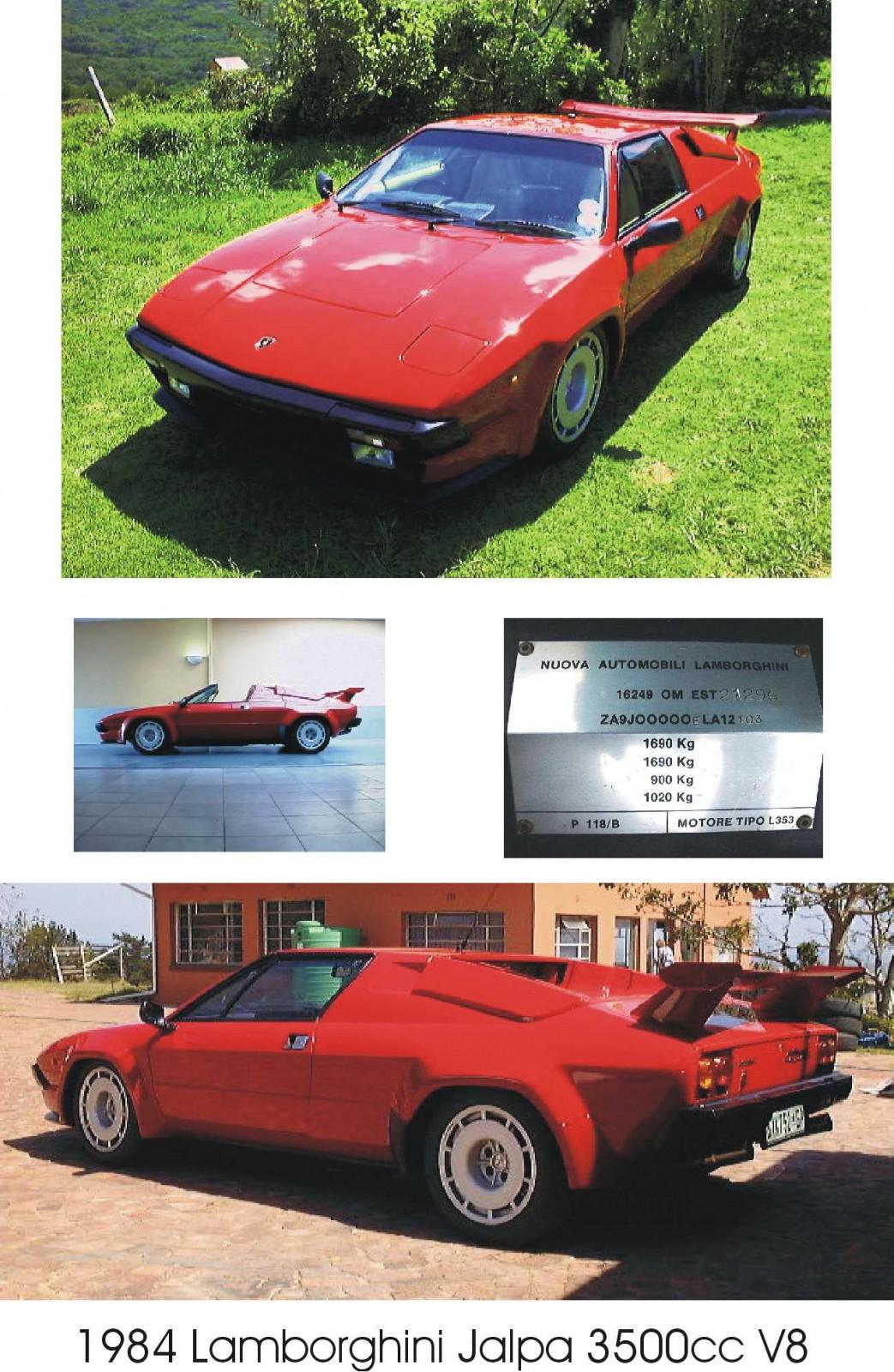 Lamborghini Jalpa - Public