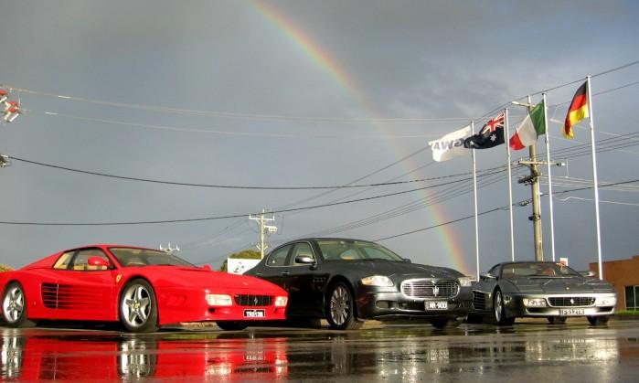 Arcobaleno Ferrari Maserati Rainbow