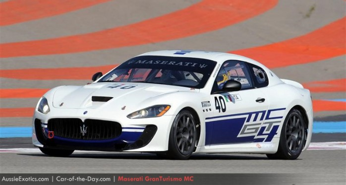 Maserati Gran Turismo MC wallpaper racing